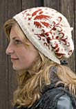 Uppländsk Fågelkrans Hat with pattern from Sånga church